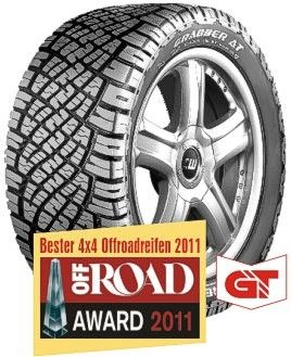 2557015 General Grabber AT 108S SUV Tyre