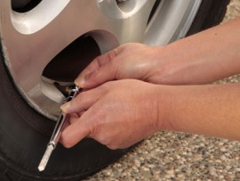 image: How to check my car tyre pressures