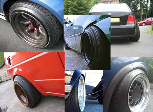 Stretch tyres